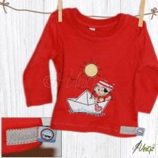 Baby-/Kinder-T-Shirt 'Rheinpiratin' für eine kleine Kölnerin