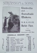 17. advert - Stansom & Son umberellas