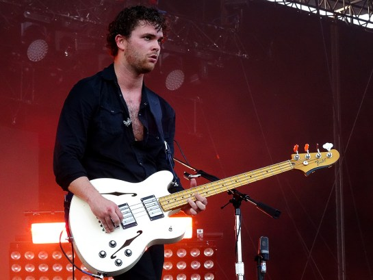Royal Blood aux Eurockéennes de Belfort, le 3 juillet 2015. (photo: Léa Fochesato)