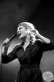 Catherine Ringer, le 26 août 2017, à Metz. (photo: Coralie Houillon)