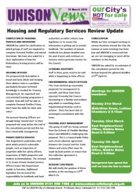 Housing review
