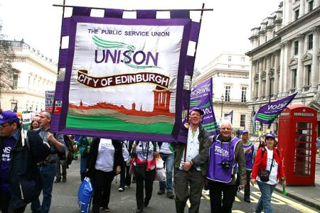 Edinburgh branch banner