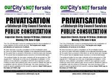 Edinburgh must delay privatisation decision until public have their say