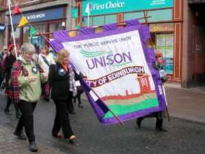 Banner in Ayr