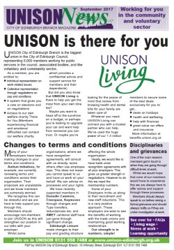 UNISON News for CVS Sept 2017