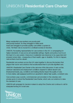 Residential Care Charter