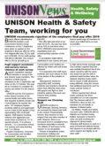 UNISON Health & Safety October Update