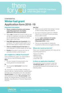 thumbnail of Final Winter Fuel Grant Application Form 2018 19