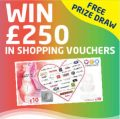 £250 Shopping Vouchers : UNISON Dental Free Prize Draw