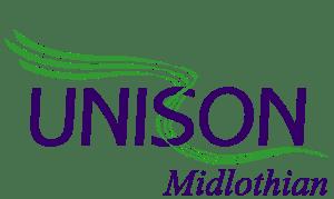 Unison Midlothian Logo