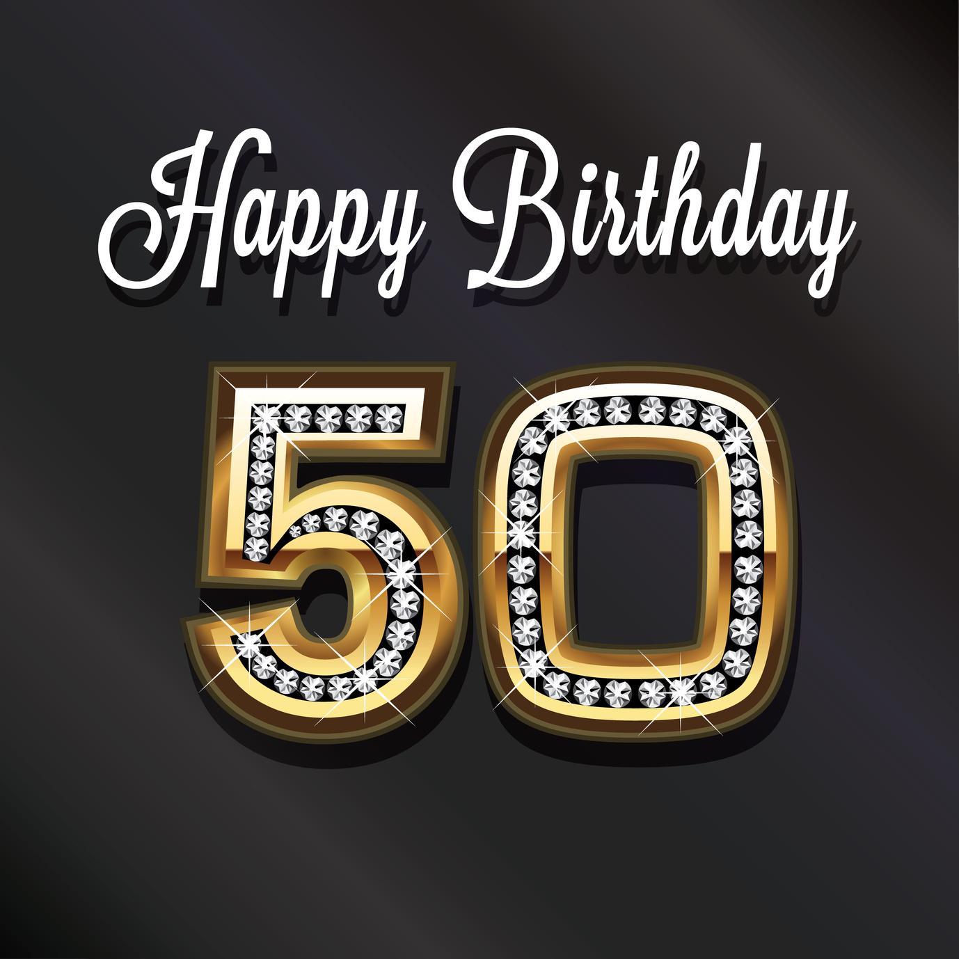 50th happy birthday anniversary