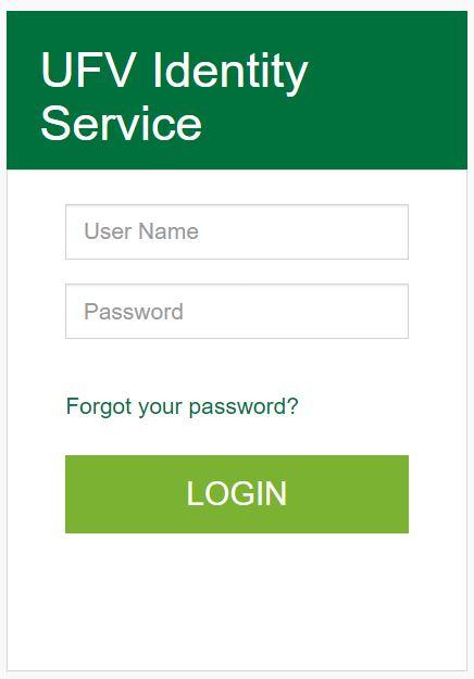 myUFV login portal