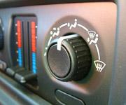 Kompor panas yang buruk di dalam kereta