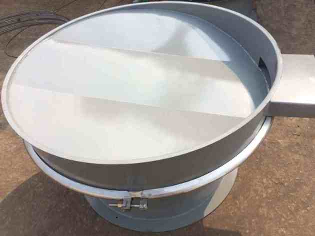 slope sieve bottom