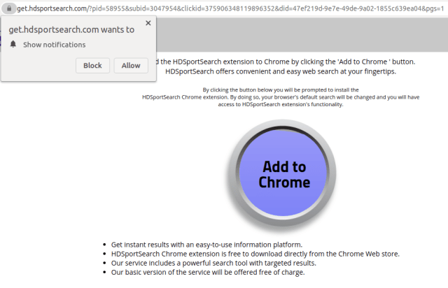 Face CAPTCHA phishing samples, one of the most popular phishing trends with PDF files that we observed, sometimes lead to web pages that seek to establish an ongoing relationship with the user. In the example shown here, the user is taken to a website that asks them to allow push notifications and download a Google Chrome extension.