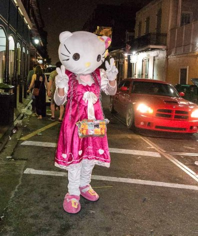 Hello Kitty comes to life