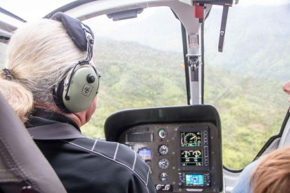 Bogart the helicopter driver
