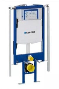 Geberit-Duofix инсталляция для углового унитаза