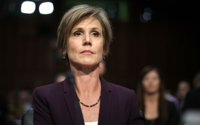 Sally Yates Throws James Comey Under the Bus…Would Not Have Signed FISA Warrant
