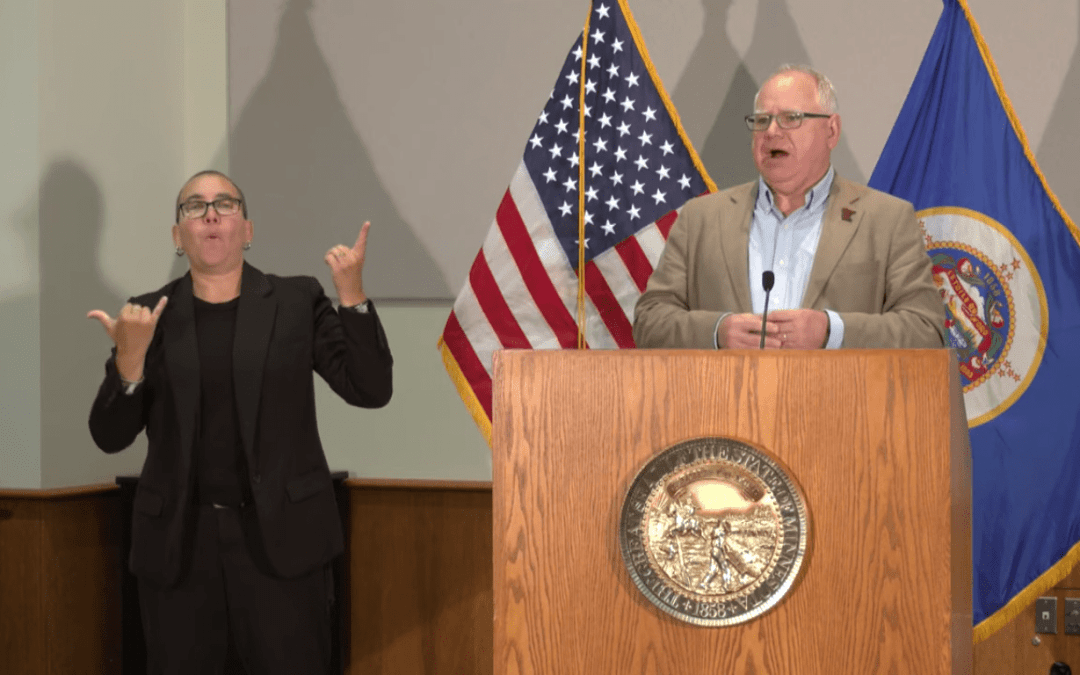 Minnesota Governor Sued for Recent Mask-Wearing Mandate