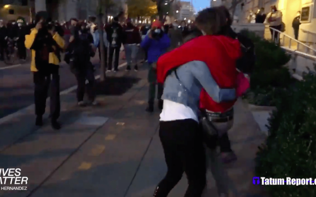 WATCH: Antifa/BLM Activists Harass and Assault Trump Supporters On the Streets