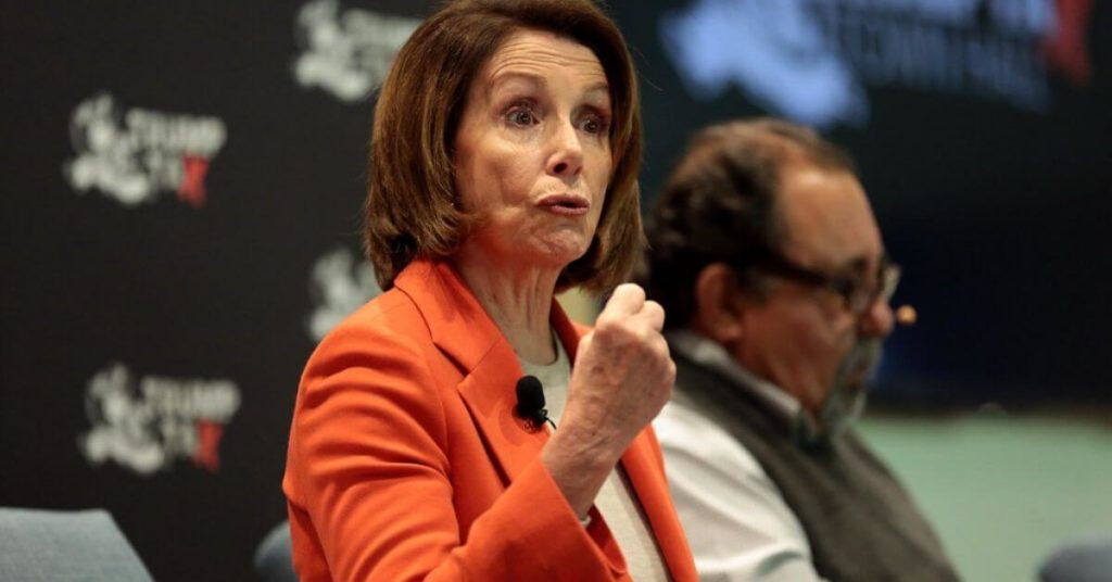 "Nancy Pelosi Says She Plans to Assault President Trump, ""I plan to pull him out of there by his hair."""