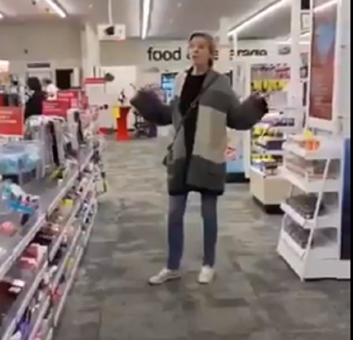 Video of Woman in Store Who Says She Will No Longer Wear a Mask Goes Viral [VIDEO]