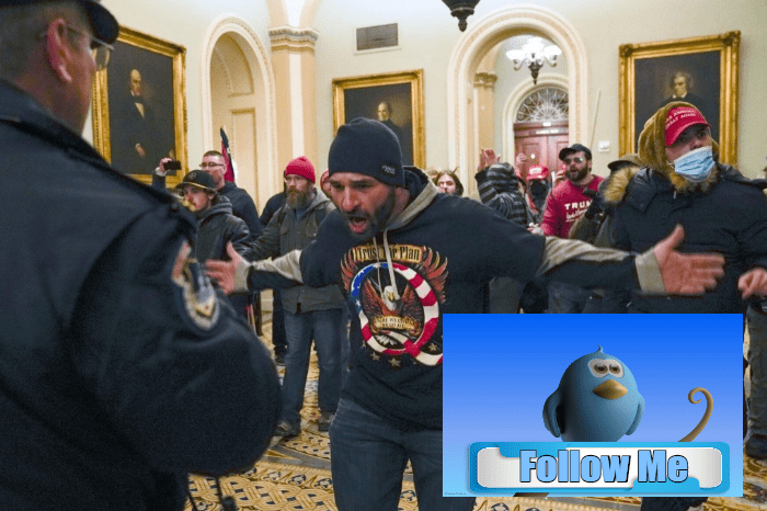 Associated Press Says Riot at Capitol Building Was Coordinated Using Twitter. Don't Hold Your Breath Waiting For Them To Be Banned Too