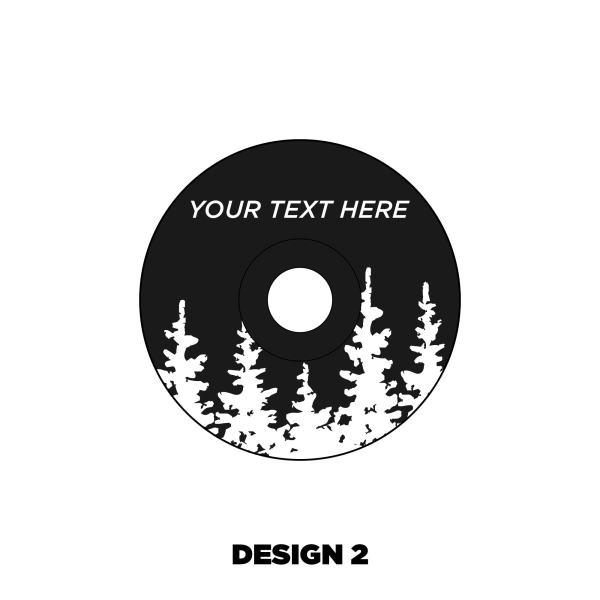 Custom Headset cap design 2