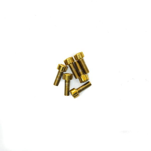 Gold stem bolts