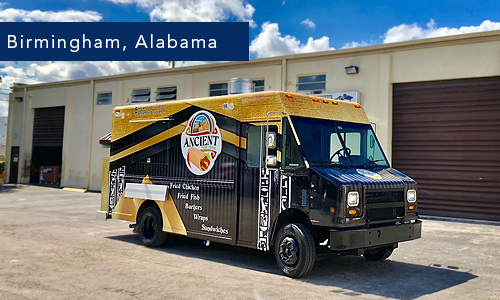 Birmingham, alabama Ancient Foodtruck by united food truck miami