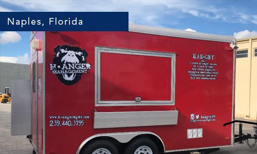 H Anger Naples Florida Food Truck