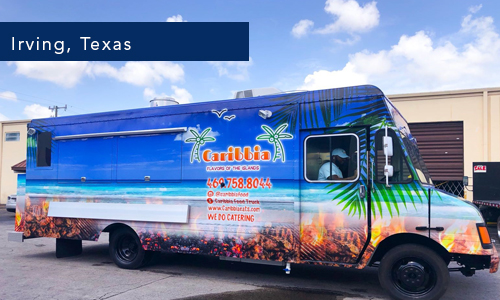 Irving, Texas, Caribean foodtruck by united food truck miami