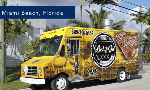 Miami Beach Bel & Go Food Truck