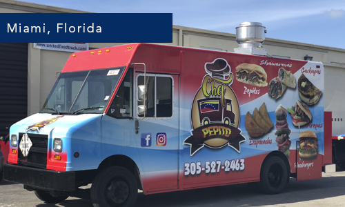 Miami Florida Chef Pepito Food Truck
