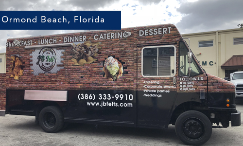 Ormond Beach Florida, JB Felts foodtruck by United Food Trucks Miami