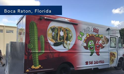 Taco Inn Food Truck Boca Raton Florida