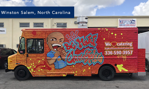 Winston Salem, NOrth Carolina Big Mouff foodtruck By United Food Truck Miami