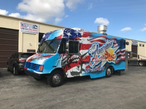 Latest build food truck for sale