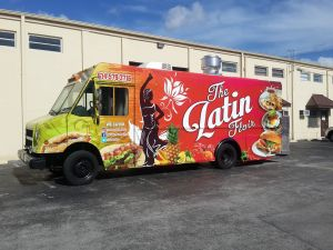 Latin Food Truck by United Food Truck, the top food truck manufacturer