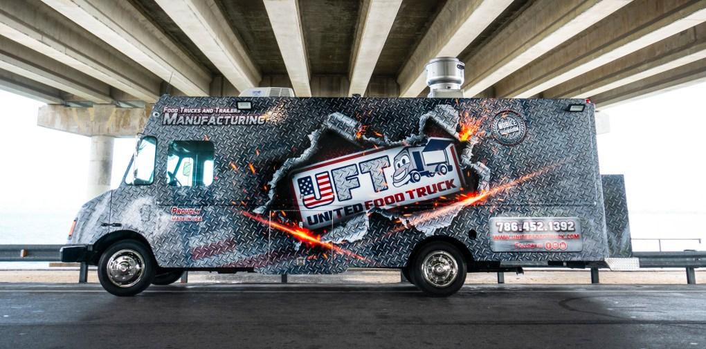 united food truck - food truck builder - food truck manufacturer