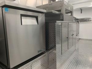 16 ft concession trailer kitchen