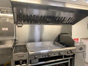 16 ft Tacos Concession Trailer kitchen