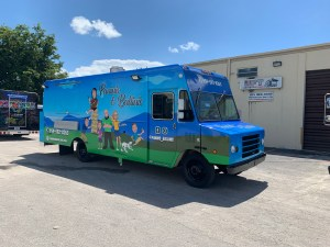 Italian food truck Paninis and Ballinis by United Food Truck, the top food truck manufacturer
