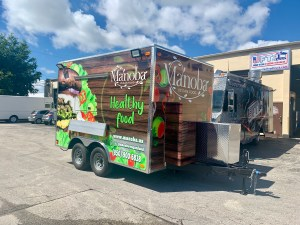 Vegan Concession Trailer