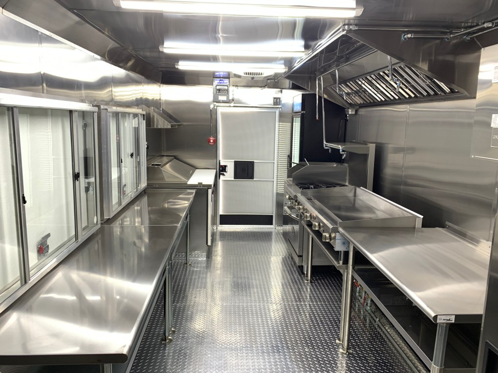 Concession Trailer kitchen inside