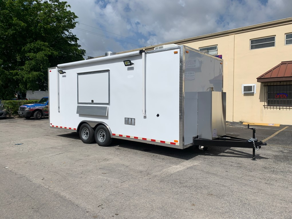 20' Concession Trailer