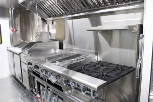 Mobile kitchen stainless steel