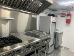 Concession trailer kitchen for sale