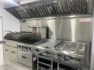 Deluxe kitchen for trailer
